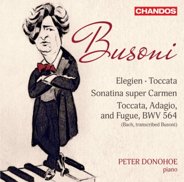 Peter Donohoe records piano music by Busoni for Chandos.