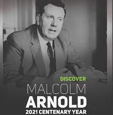 Malcolm Arnold Centenary Concert, St George's Hanover Square, September 24, conducted by Matthew Taylor.