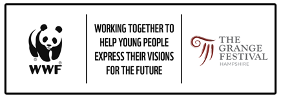 The Grange Festival and WWF collaborate for Future Visions challenge with Britain's youth.