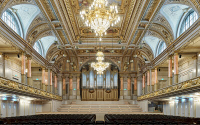 Inauguration of the newly renovated Tonhalle Zürich – Tonhalle-Orchester Zürich – Paavo Järvi conducts Mahler's Third Symphony, with Wiebke Lehmkuhl [SRF 1 live webcast]