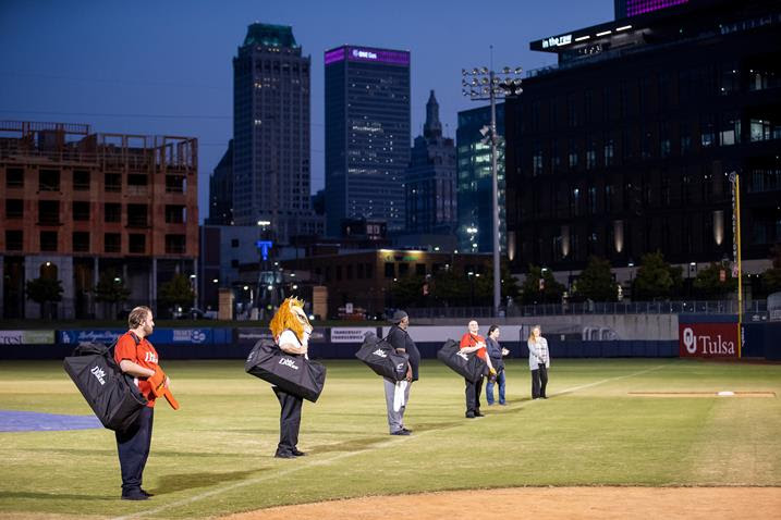 """Tulsa Opera 2021-22 Season Opens With """"Puccini and Verdi Play Ball at ONEOK Field"""" Friday, October 15."""