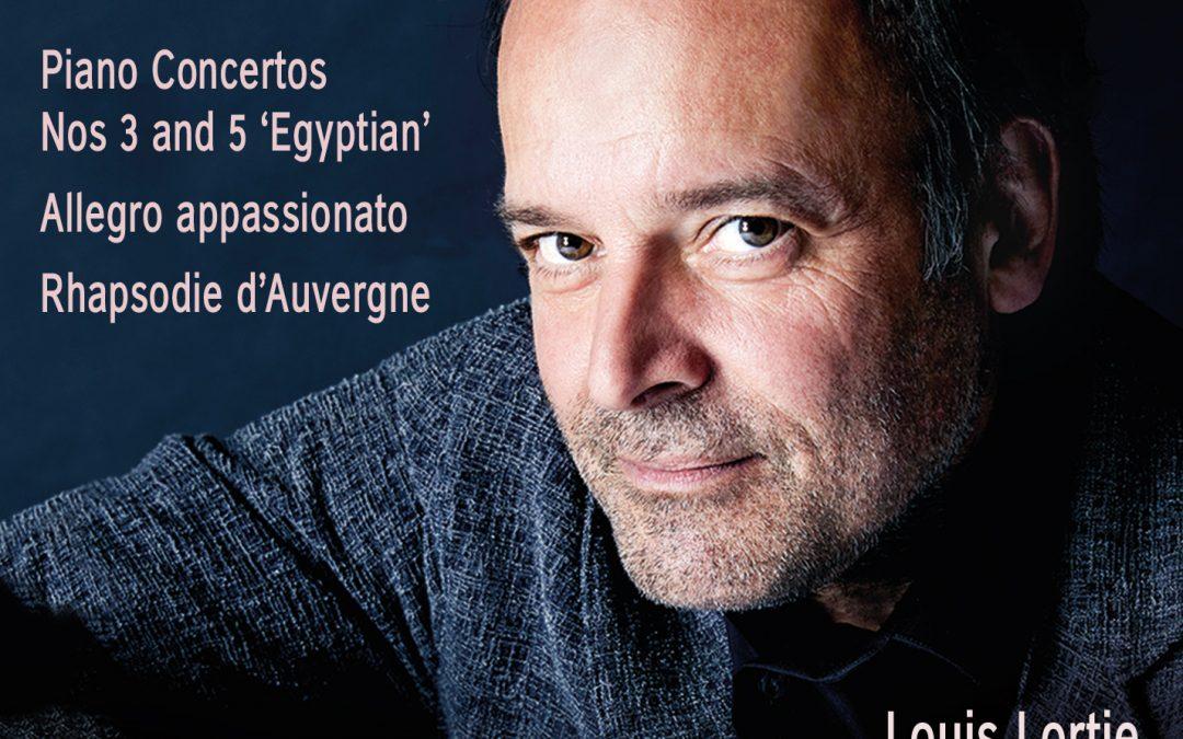 Louis Lortie records Saint-Saens's Piano Concertos 3 & 5 [Chandos]