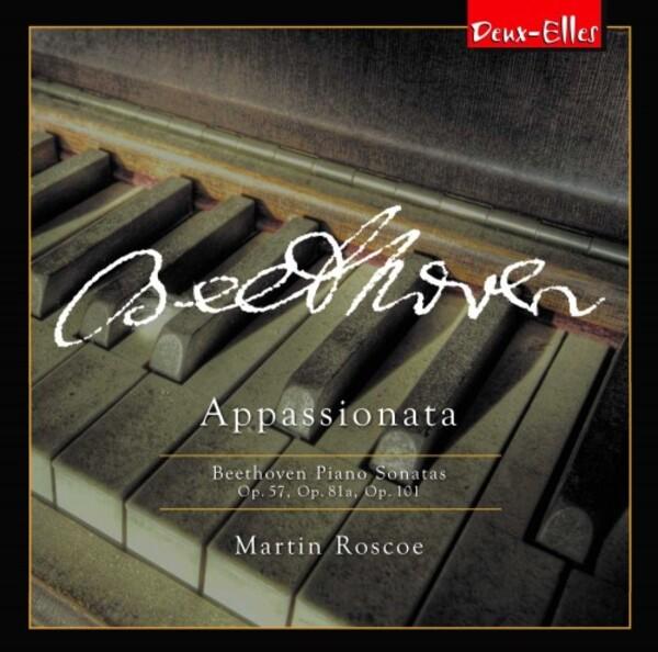 Martin Roscoe records Beethoven's Appassionata for Deux-Elles.