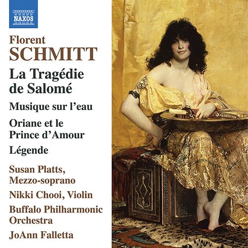JoAnn Falletta & the Buffalo Philharmonic record Florent Schmitt for Naxos.