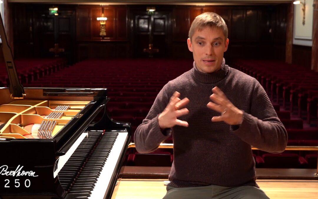 Cédric Tiberghien Variations at Wigmore Hall.