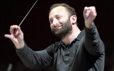 European Concert of the Berliner Philharmoniker conducted by Kirill Petrenko in the Foyer of the Philharmonie Berlin.