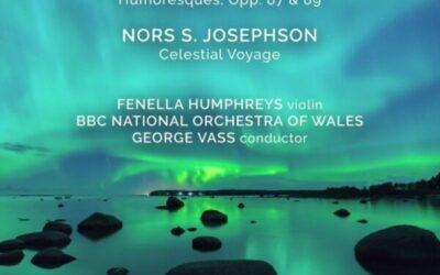 RELEASED TODAY, April 2: Fenella Humphreys records Sibelius's Violin Concerto for Resonus … George Vass conducts BBCNOW.