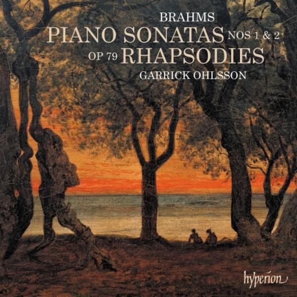 Garrick Ohlsson records Brahms's Opuses 1, 2 & 79 for Hyperion, Sonatas & Rhapsodies.