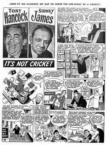 Tony Hancock: The Test Match.