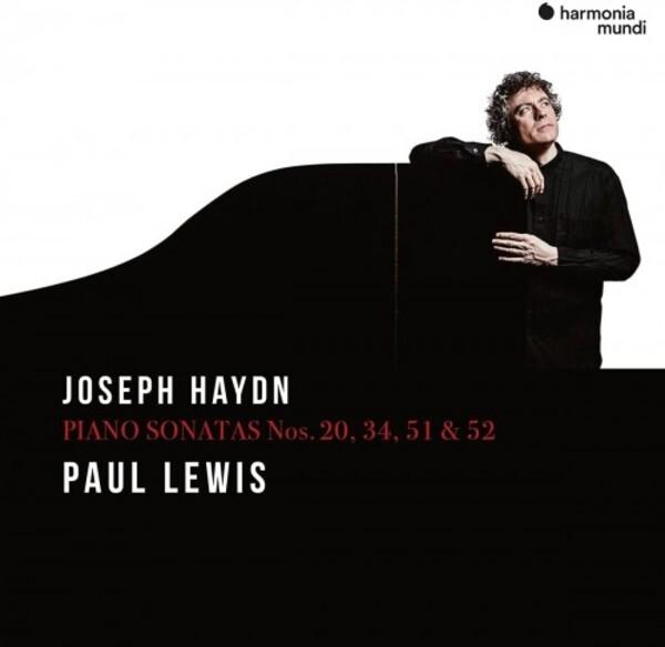 Paul Lewis records Haydn Piano Sonatas for Harmonia Mundi.