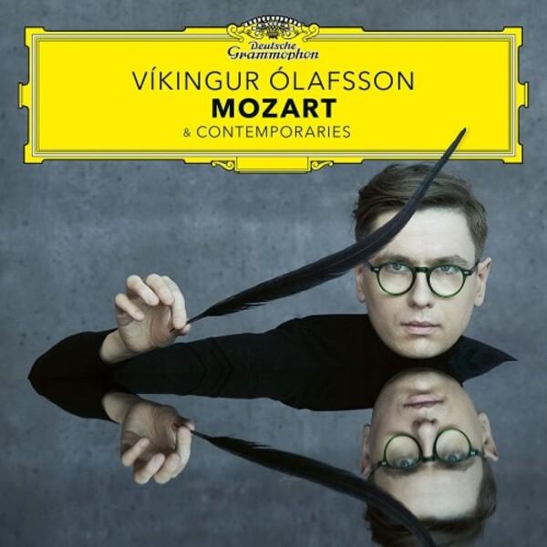 Víkingur Ólafsson records Mozart & Contemporaries for Deutsche Grammophon.